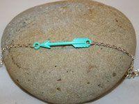 Bracelet flèche turquoise