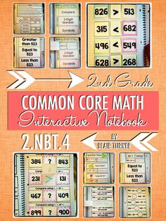 Great interactive notebook practice activities and higher-order thinking activities to work on comparing numbers. $
