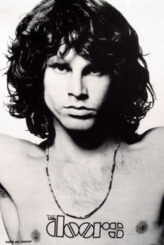 Jim Morrison - The Doors Póster en tela
