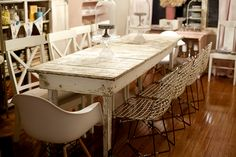 craft table, even as a dining table