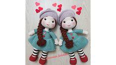 Elişi Deryası Creations Nazmişin Bebekleri kanalının hazırlamış olduğu Sütaş buzi yapan nazlı hanımın bir başka çalışması olan Kış bebeği Amigurumi çalışmasını sizlerin beğenisine sunuyorum. Crochet Doll Clothes, Crochet Dolls, Crochet Hats, Amigurumi Tutorial, Free Crochet, Free Pattern, Diy And Crafts, Crochet Patterns, Make It Yourself