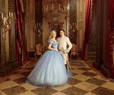 Costuming Lily James and Cate Blanchett in Cinderella - Vogue