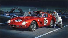 Ferrari Berlinetta 563 by Jack Leynnwood