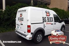 With The Tagline Across Back This Beer Wont Drink Itself Ford Transit Connect Wrap Is Sure To Attract Attention Seattle Area Based