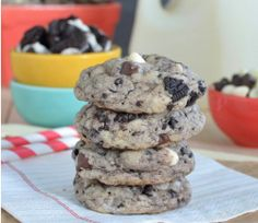 Chocolate Chip Cookies and Cream Cookies