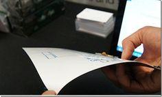 Futuro Toque Concept Tecnologia superfino Teclado Sem Fio