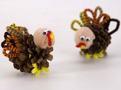Pollos con piñas