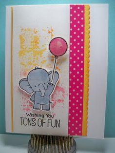 Little Scrap Pieces:  Wishing you TONS OF Fun: BB Adorable Elephants
