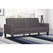 Paris Futon with Independently Encased Coils, Multiple Colors