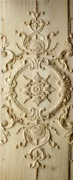 Agrell Architectural Carving: French, Versailles, Louis XIV hand carved panel
