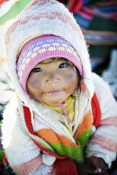 A girl from Peru.  Precious.  :)