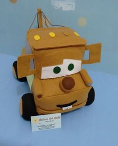 Dellour Art Ateliê: Carros Disney em feltro Felt Diy, Felt Crafts, Diy And Crafts, Diy Party, Baby Toys, Minions, Diy Projects, Luigi, Gabriel