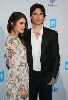 Ian Somerhalder - WE Day California at the Forum on Thursday, April in Inglewood, Calif Ian And Nikki, Ian Somerhalder, Beautiful People, Eye Candy, Tv Shows, Suit Jacket, April 7, Actors, The Originals