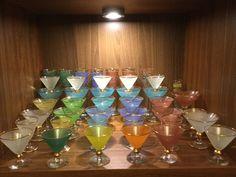 Pulverglass. Randsfjord og Magnor Wine Glass, Glass Art, Flute, Vases, Champagne, Tableware, Beautiful, Kunst, Dinnerware