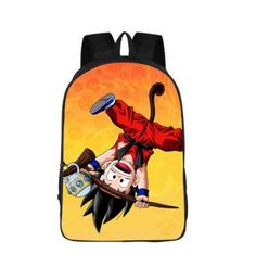 Cute Kid Goku Monkey Tail Style Design School Backpack Bag  #Cute #Kid #Goku #Monkey #Tail #Style #Design #School #Backpack #Bag