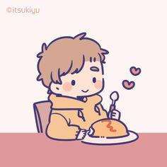 ni naru】『alice cafe』●F. Kawaii Drawings, Cartoon Drawings, Cute Drawings, Cute Couple Poses, Cute Couple Art, Cool Anime Pictures, Cute Anime Pics, Chibi Characters, Cute Characters