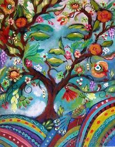 Beautiful Spirit Camouflaged Folk Art Tree of Life Tree Of Life Artwork, Tree Of Life Painting, Tree Art, Murals Street Art, Tree Illustration, Commercial Art, Psychedelic Art, Cartoon Wallpaper, Mother Earth