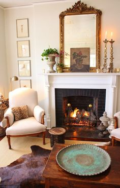 for the love of a house: the living room today