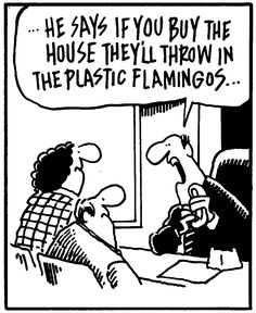 "Funny Friday's TGIFF FUNNY FRIDAY'S ""THEY'LL THROW IN THE PLASTIC FLAMINGOS"""