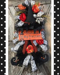 """22 Likes, 3 Comments - Ba Bam Wreaths (@babamwreaths) on Instagram: """"Welcome My Pretties! """""""