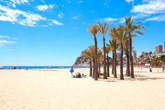 Poniente beach, alternative benidorm