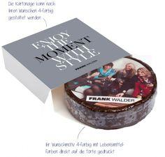 M-logolini-Torte in Mailingbox - Werbeartikel zum Anbeissen