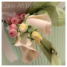 Buds and Berries. Sugar flowers by Cake Art by Bec