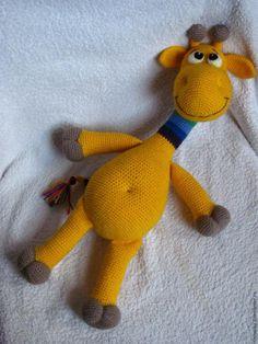 Мастер-класс: «Радужный жирафчик» крючком - Ярмарка Мастеров - ручная работа, handmade