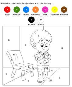 Alphabet Coloring Worksheets for Kindergarten Beautiful Alphabet Coloring Worksheet Turtle Diary Coloring Worksheets For Kindergarten, Free Worksheets For Kids, Printable Alphabet Worksheets, Printable Activities For Kids, Free Printable, Coloring For Kids Free, Coloring Pages Inspirational, Alphabet Coloring Pages, Numbers For Kids