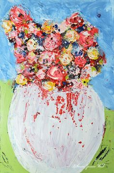 Katherine Jeanne Wood - Art by Katie Jeanne Floral, still life, portrait, bird, landscape, and abstract paintings