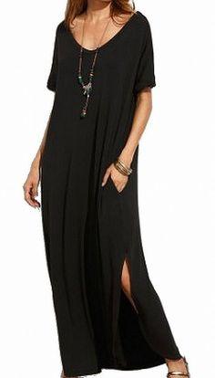e7cdbc00b9f2 Designer Brand NEW Black Women s Size Large L V-Cut Curved Hem Dress  50-