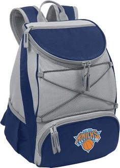 Picnic Time PTX Cooler Backpack New York Knicks Print  http://allstarsportsfan.com/product/picnic-time-ptx-cooler-backpack-new-york-knicks-print/  Dimensions: 11″ x 7″ x 12.5″ Origin: Imported Features of this item include: NBA, Outdoor, Picnic, Polyester, Water Resistant