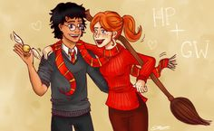 Harry and Ginny by Emporer Pengwing