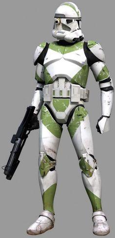 Clone Trooper-Phase II-Green photo GreenStanding.jpg