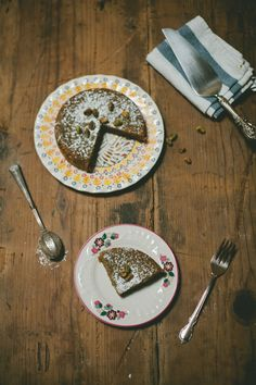 pistachio almond cake (gluten  dairy free) by my name is yeh