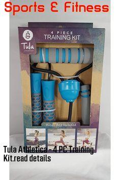 Tula Athletica - 4 PC Training Kit Training Kit, Band, Sash, Bands, Tape, Conveyor Belt