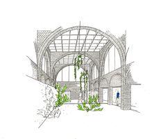 Clássicos da Arquitetura: Residência Nivaldo Borges,Espaço central. Image © Lelé. Cortesia de Adalberto Vilela