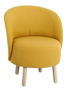 Vintage tela and vintage armchair on pinterest - Fauteuil jaune ikea ...