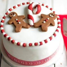 507 best christmas cake images on - Christmas Cake Decoration Ideas