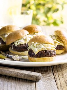 Celebrate July 4th with America's favorite ranch and this Smoky Sliders Recipe! Perfect for backyard BBQs and entertaining.