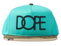 "DOPE ""Logo"" Snapback Cap"