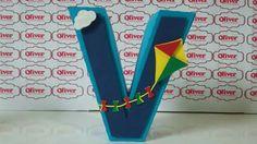 Letra em 3D Scrap by Oliver Festas Infantis ☺