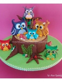 Top Owl Cakes - Top Cakes - Cake Central