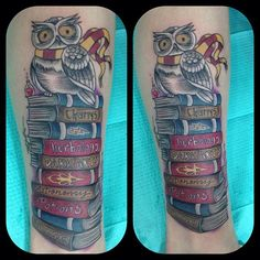 Harry Potter tattoo Done by 27 tattoo in Phoenix - don't like this tattoo exactly but i like the idea of it