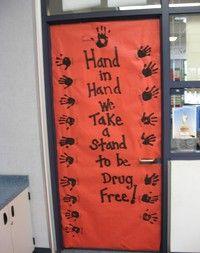 red ribbon week themes | More bulletin boards---I love bulletin boards :0)