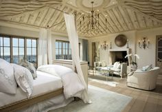 Waking up is hard to do when your bedroom is this beautiful!