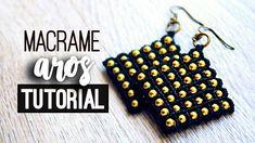 Macrame earrings ♥︎ Tutorial   how to   diy ● #169