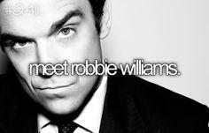 Meet Robbie Williams