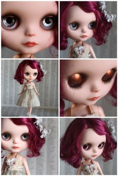 Ardith - a Mab Girl - custom Blythe doll by Mab Graves