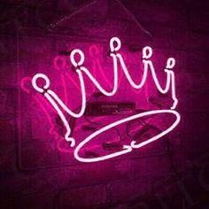 Pink Neon Wallpaper, Wallpaper Iphone Cute, Neon Wall Signs, Pink Neon Sign, Neon Lamp, Cute Bedroom Decor, Neon Backgrounds, Neon Design, Neon Aesthetic